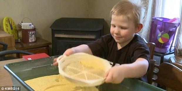 В США живёт пятилетний мальчик, который не чувствует боли