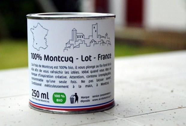 Француз успешно продаёт консервированный загородный воздух