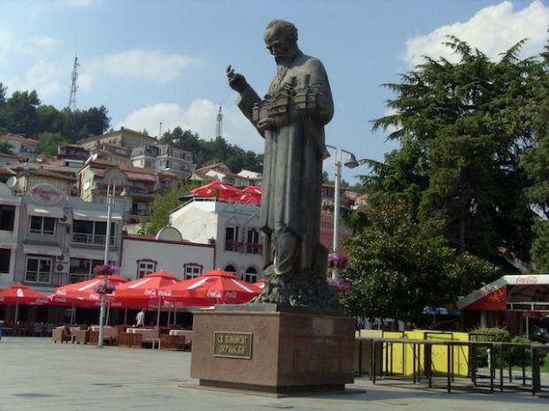 Памятник Клименту в Охриде