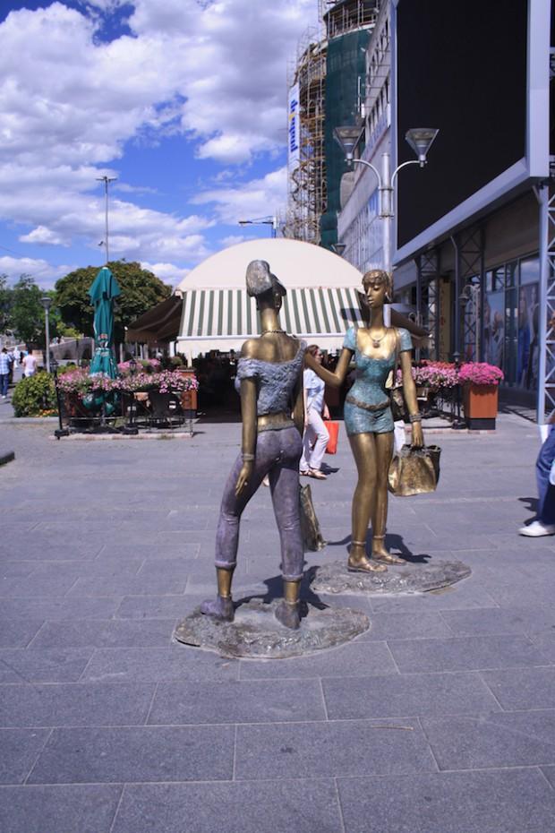 Скопье, памятник модницам