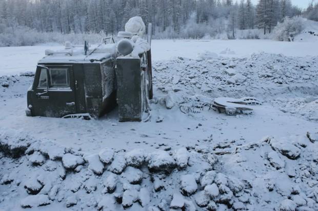 Оймякон — самый холодный посёлок в России и один из самых холодных населённых пунктов мира