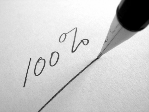 С математической точки зрения, ни в чём нельзя быть уверенным на 100%