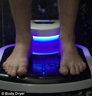 Сушилка для тела высушит вас после душа за 30 секунд
