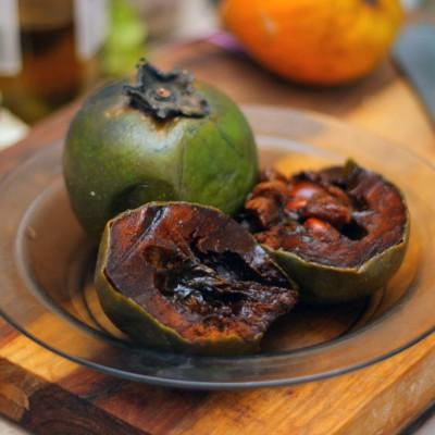 Чёрная сапота — фрукт со вкусом шоколада