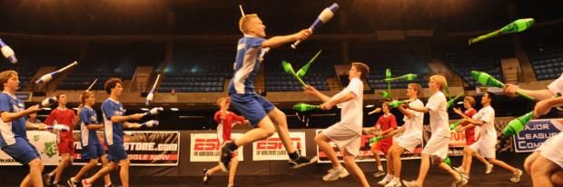 Существует такой вид спорта, как жонглёрская битва