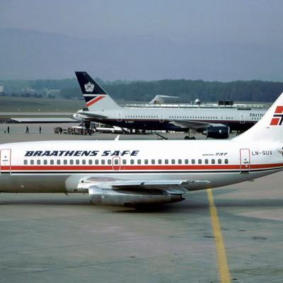 Первый в истории Норвегии угон самолёта закончился тем, что угонщик потребовал за заложников пива