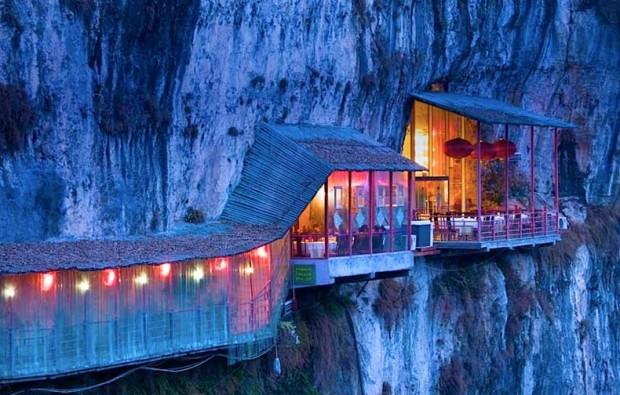 10 ყველაზე უჩვეულო რესტორანი მსოფლიოში