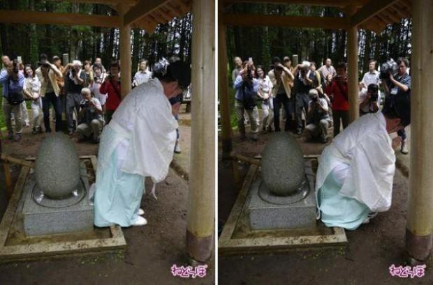 В Японии есть святыня, лечащая геморрой