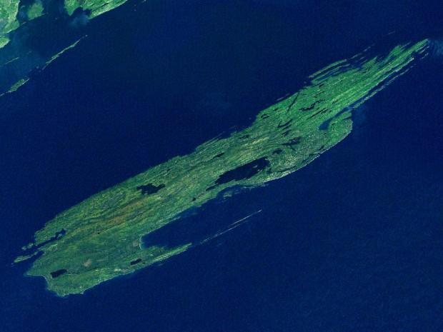 Остров Ройял / © NASA