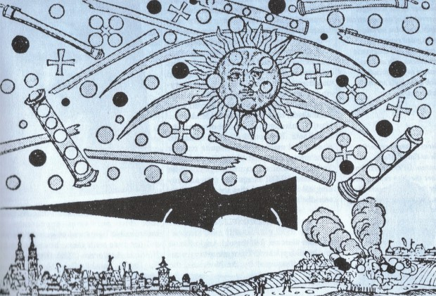 10 любопытных случаев «наблюдения НЛО»