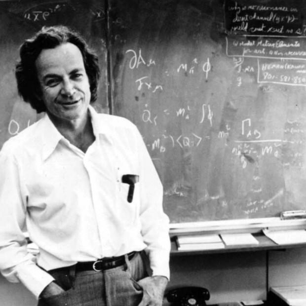 Ричард Фейнман — выдающийся американский физик-теоретик . Один из создателей квантовой электродинамики.