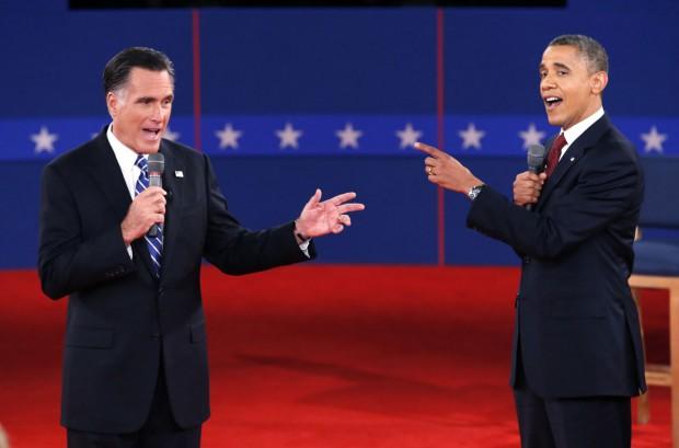 Митт Ромни и Барак Обама / © foto.mail.ru