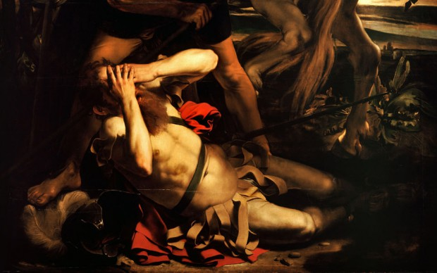The Conversion of Saint Paul by Caravaggio 1600-1601 / © Wikimedia