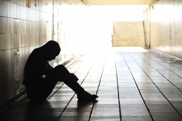 В депрессии