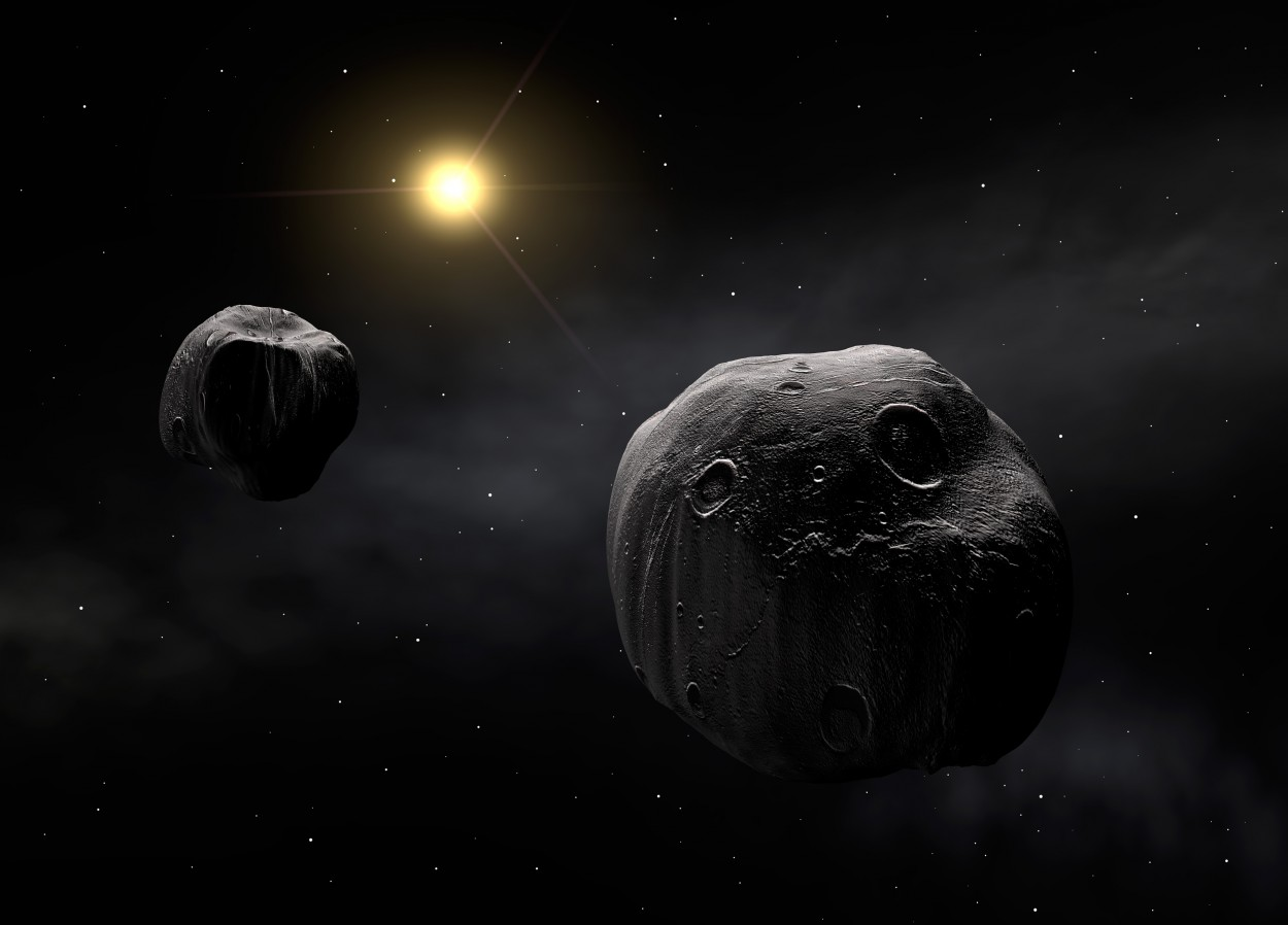 Фото 2 - 10 странных объектов Солнечной системы, о которых нам мало что известно