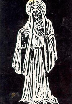 Санта Муэрте Бланка (Белая Святая Смерть)