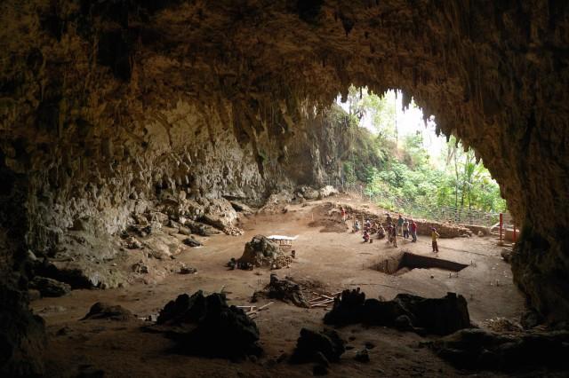 Пещера Лианг-Буа на острове Флорес