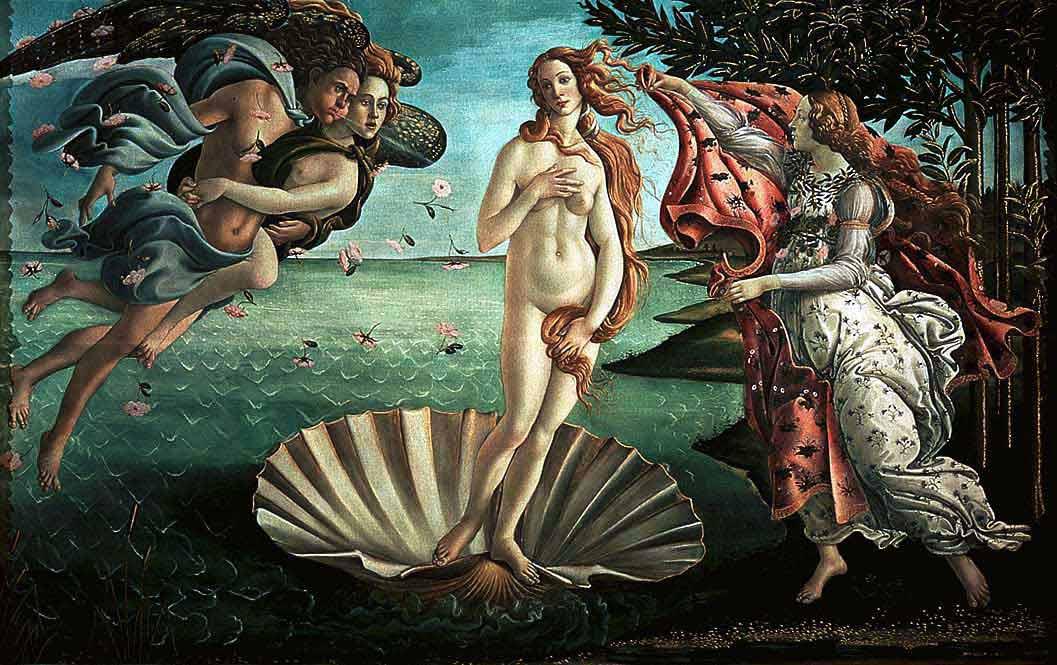 Рождение Венеры (1485)