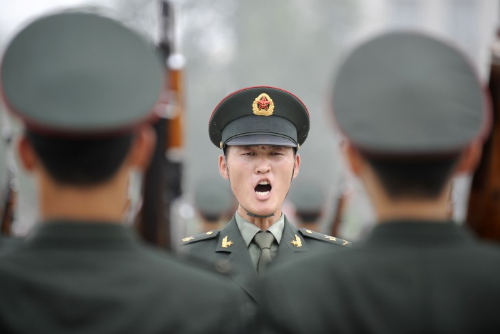 AFP PHOTO / LIU JIN