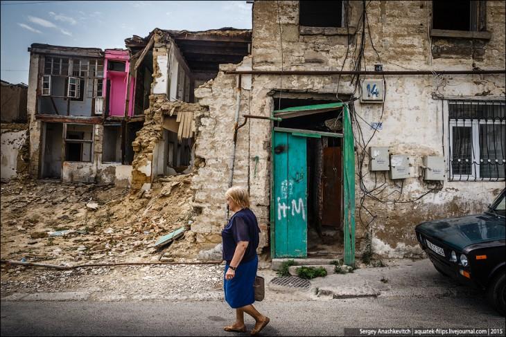 Как разрушают Баку, чтобы превратить его в кавказский Дубай: 40 фотографий