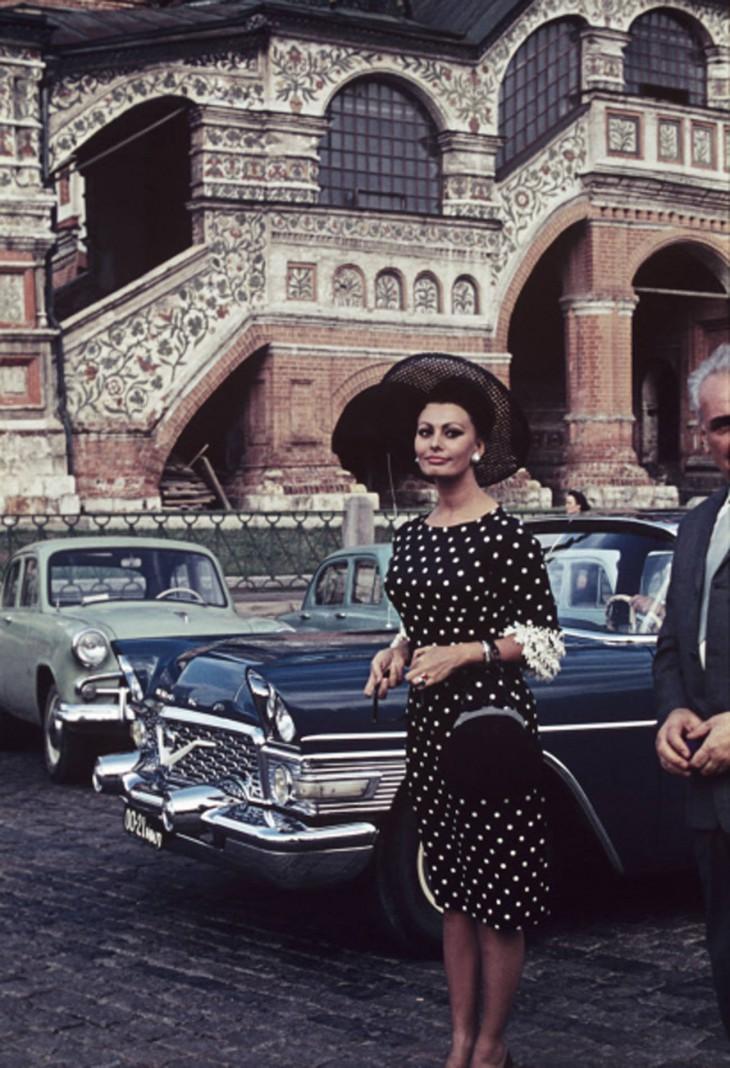 Софи Лорен вМоскве, 1965