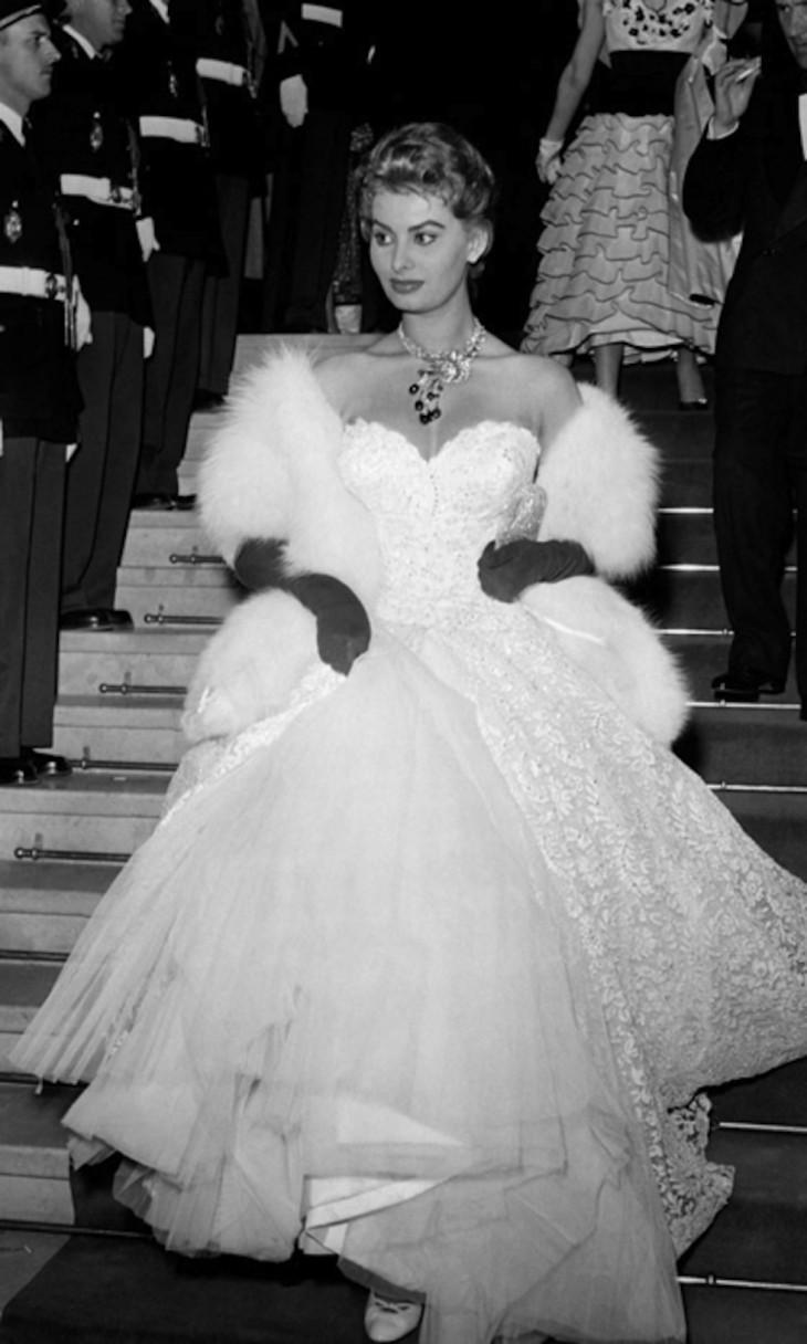 Софи Лорен наКаннском кинофестивале, 1955