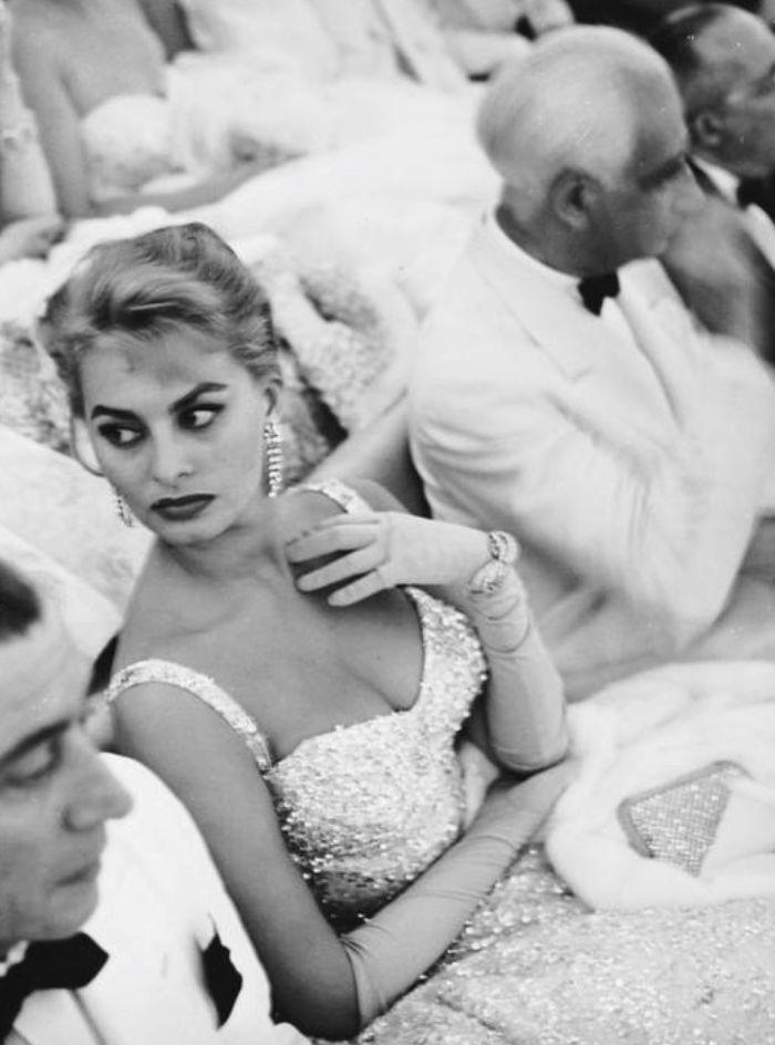 Софи Лорен наВенецианском фестивале, 1955