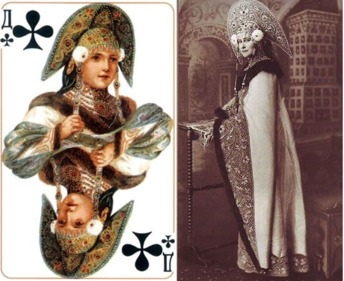 Трефовая дама и ее прототип — княгиня Елизавета Федоровна
