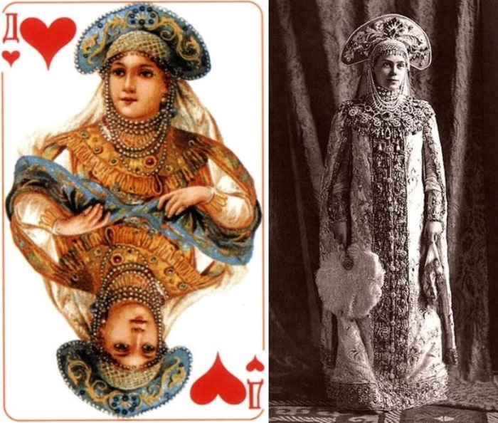 Червовая дама и ее прототип — княгиня Ксения Александровна