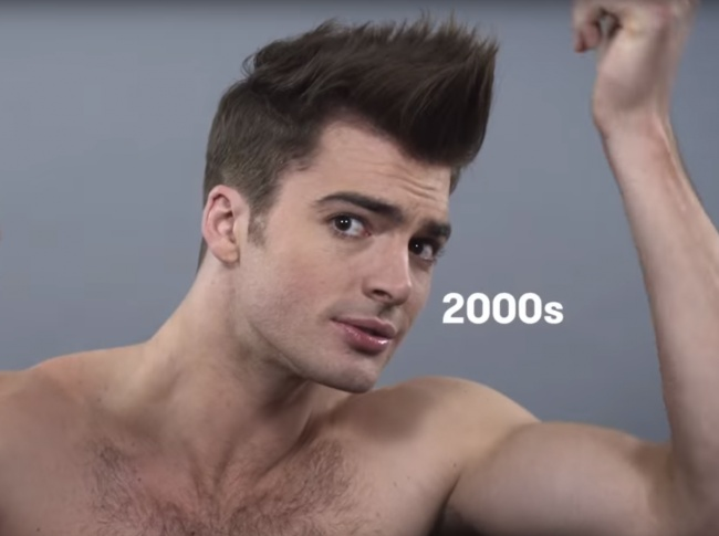 Прически 2000-х годов мужские