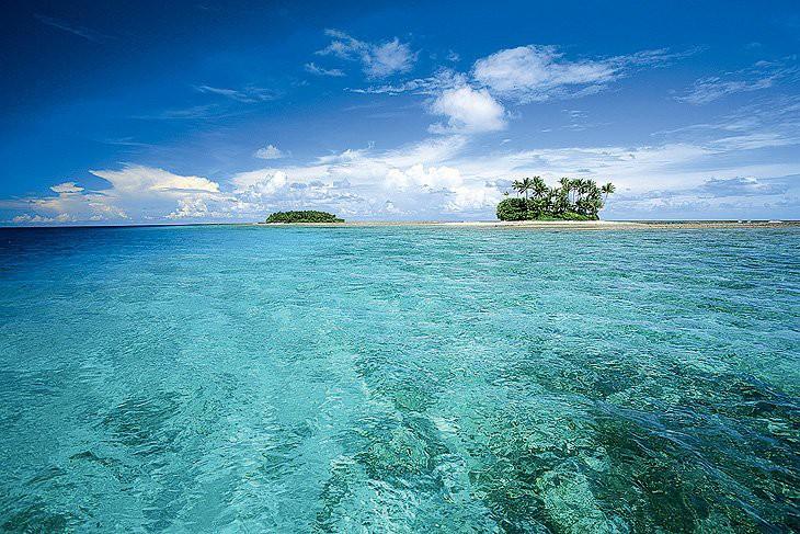 Атолл Эбон, где обнаружили Хосе, самый южный обитаемый остров среди Маршалловых островов.