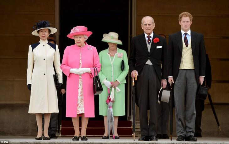 фото английская королевская семья
