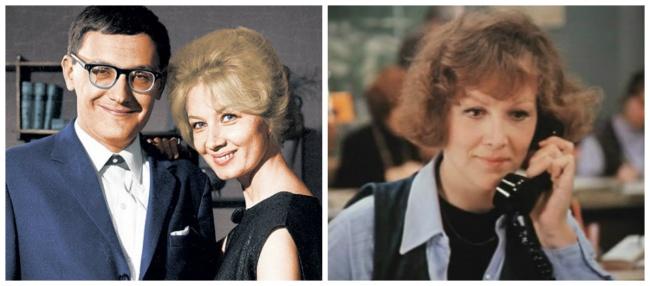 Владимир, женой которого была известная актриса Алла Демидова (слева), описал в сценарии собственную историю. Надежда Репина — справа. • &copy: Kino-teatr.ru