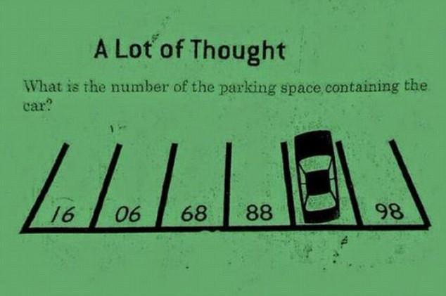 Какое число скрыто под машиной