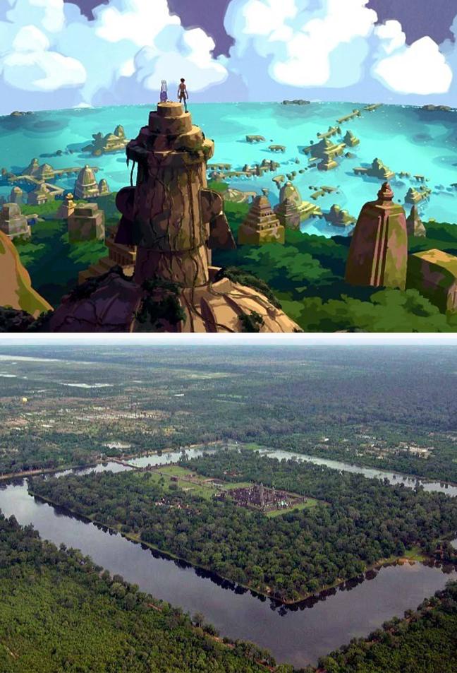 10 реальных мест на Земле из мультфильмов Диснея