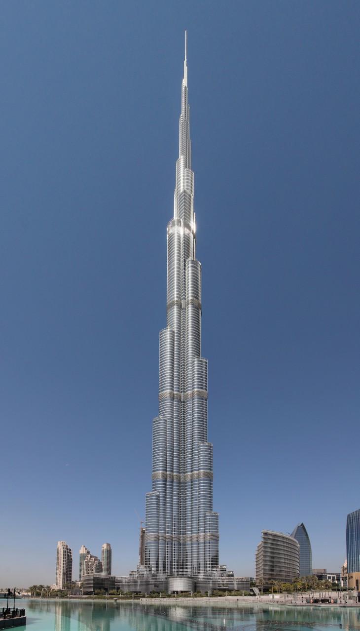 10 фактов о Бурдж Халифа — самом высоком здании в мире