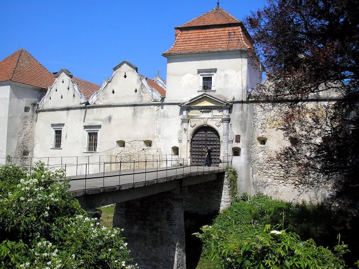 Свиржский замок— место съёмок главных сцен фильма
