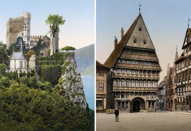Редкие цветные фотографии Германии начала XX века