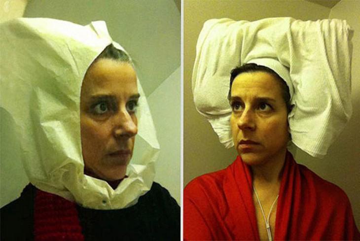 Фламандские портреты XV века, «воссозданные» в туалетах самолетов