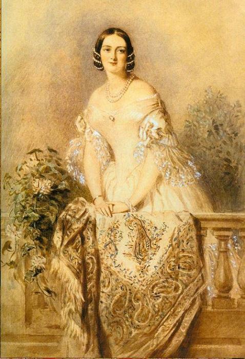Портрет Елены Михайловны Завадовской