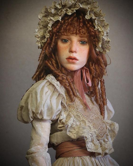 Российский скульптор создаёт потрясающе реалистичных кукол
