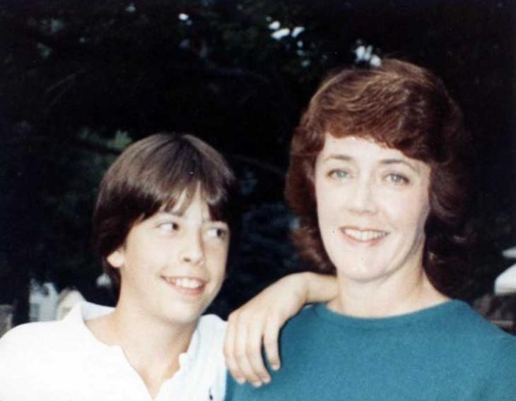 Со своей мамой, 1982 год