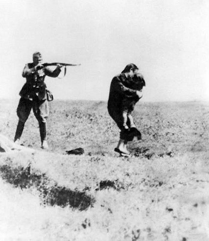 25 фотографий времён Второй мировой, подвергшихся фотомонтажу в целях пропаганды