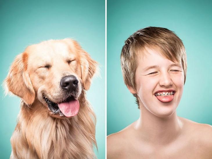 15 фотографий собак и их владельцев, похожих как две капли воды