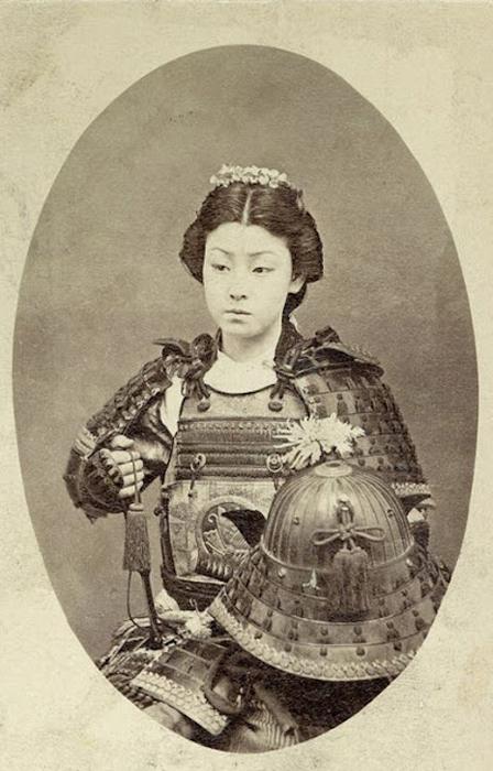 Онно бугэйся — японские женщины самураи