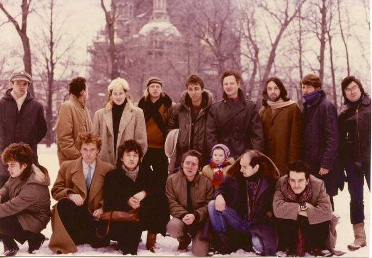 Цвет Ленинградского андеграунда 80 х в фотографиях Джоанны Стингрей
