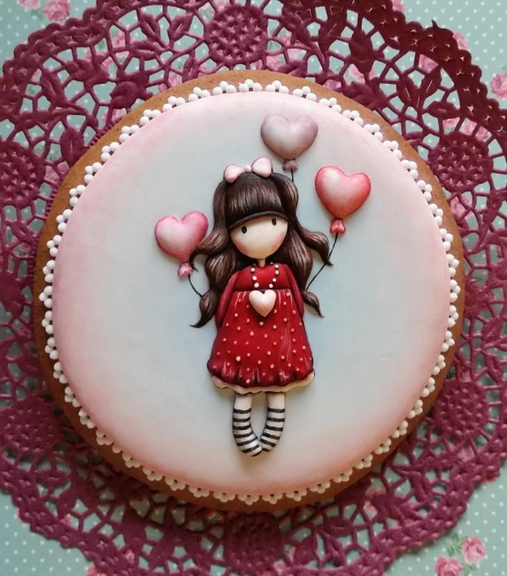 Угорська художниця і шеф кондитер створює шедеври мистецтва зі звичайного печива