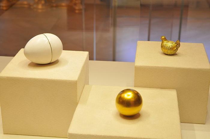 Курочка, яйцо Фаберже, 1885