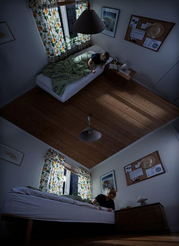 Оптические иллюзии Эрика Йоханссона: 10 завораживающих картин