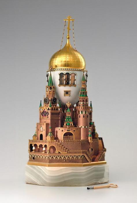 Московский Кремль, яйцо Фаберже, 1906